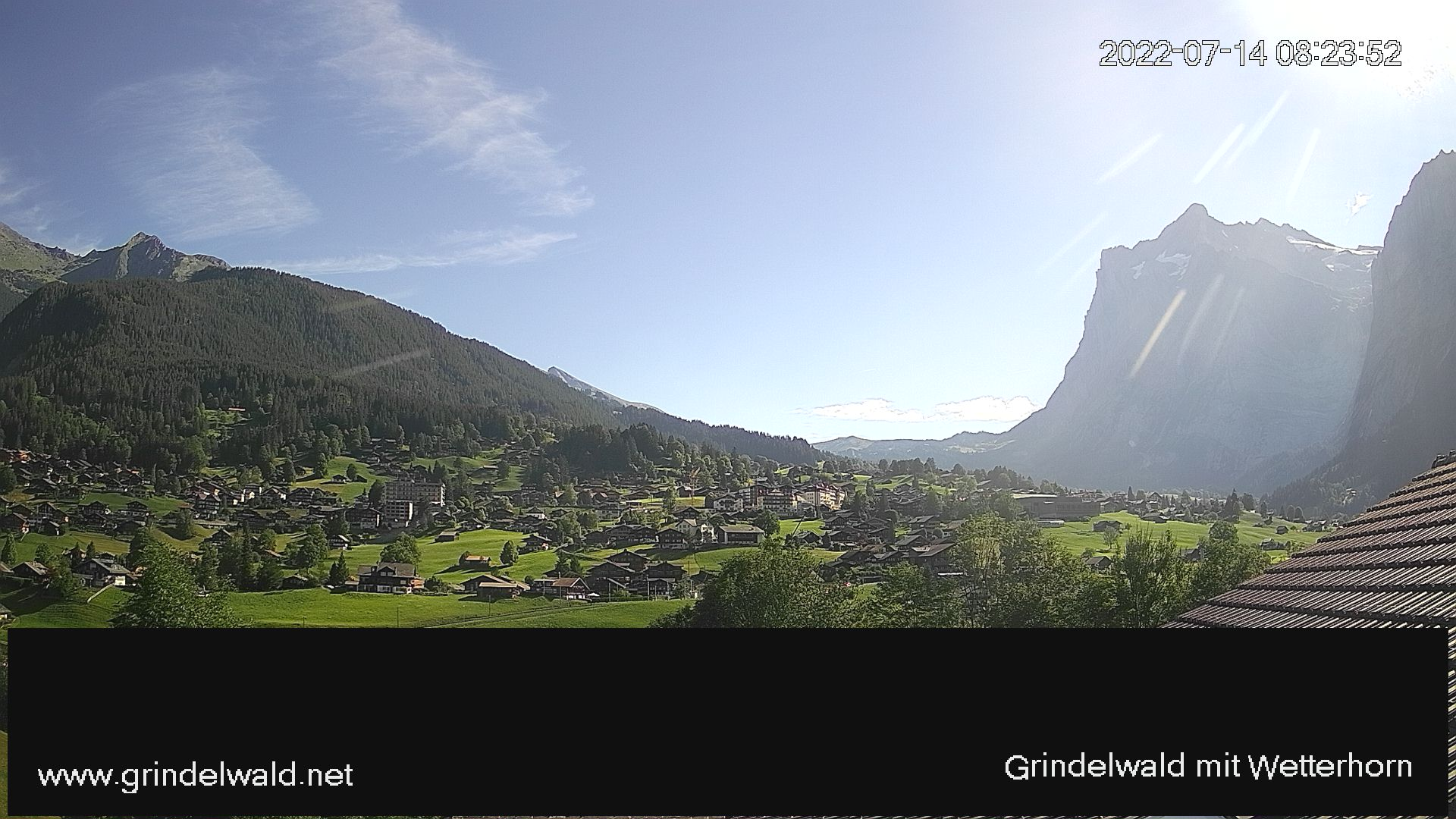 Webcams de Grindelwald - Jungfrau (Suiza)