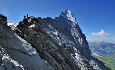 Klettersteig Grindelwald : Grindelwald sommer wandern klettern bergsteigen biking